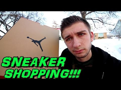 SNEAKER SHOPPING  + THE MOST CLASSIC JORDANS EVER?!