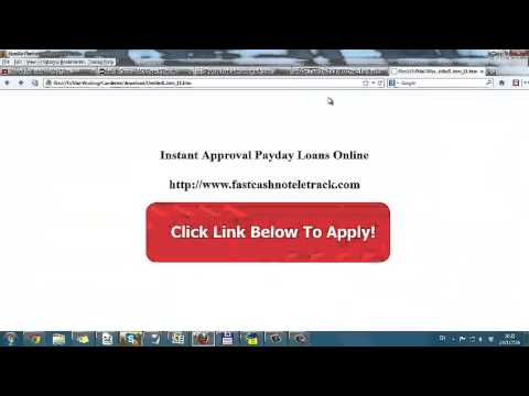 How To Get A Personal Loan With Bad Credit Fast Payday Loans up to $1,000 from YouTube · High Definition · Duration:  1 minutes 31 seconds  · 309 views · uploaded on 2/9/2017 · uploaded by Payday Loans
