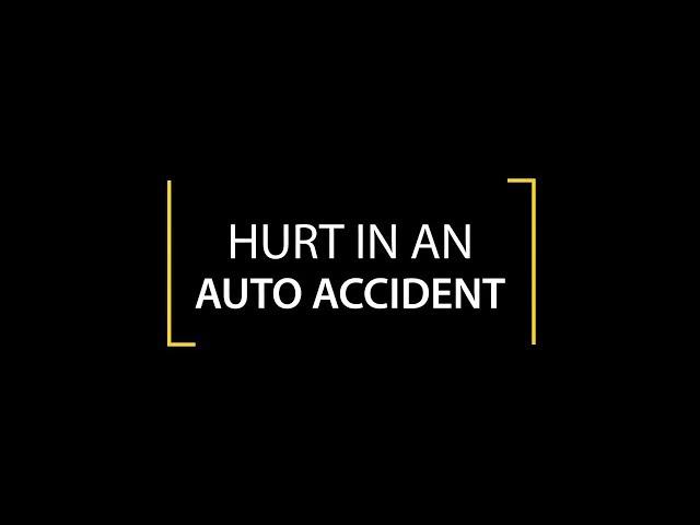 Auto Accident - Schweickert Ganassin Krzak Rundio, LLP