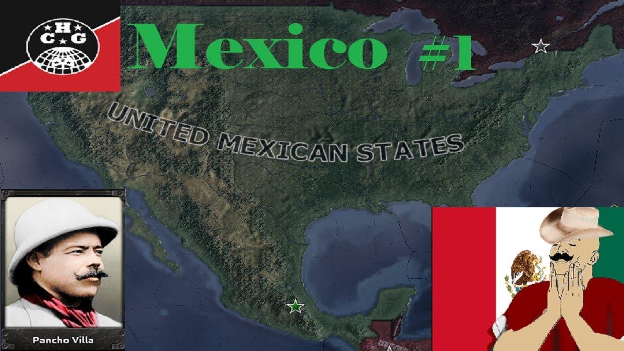 HOI4: Kaiserreich - Mexico #1 - The Reconquista begins!