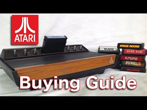 Atari 2600 Beginners BUYING GUIDE & Best Games