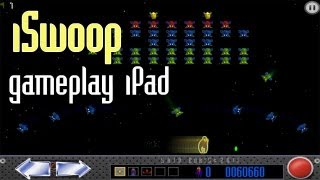 iSwoop on the iPad gameplay - Space arcade game