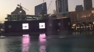 DUBAI FOUNTAIN BEST VIDEO EVER