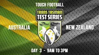 2020 YOUTH TRANS TASMAN TEST SERIES - DAY 3 | Touch | Sky Sport Next