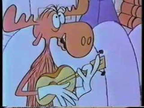 Bullwinkle sings Gordon Lightfoot