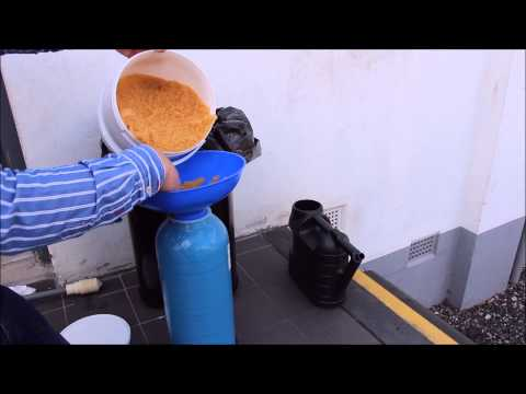 How to change Resin in a DI Pressure Vessel