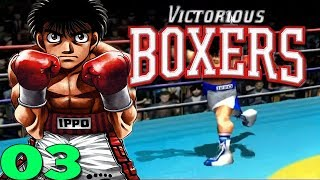 Let's Play Victorious Boxers Gameplay Walkthrough Part 3 (PS2)