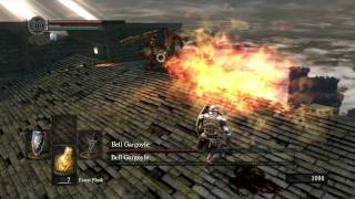 Dark Souls - Bell Gargoyle Strategy and Gargoyle Tail Axe