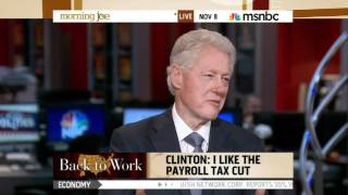 Bill Clinton on Herman Cain: Best Guest Ever...