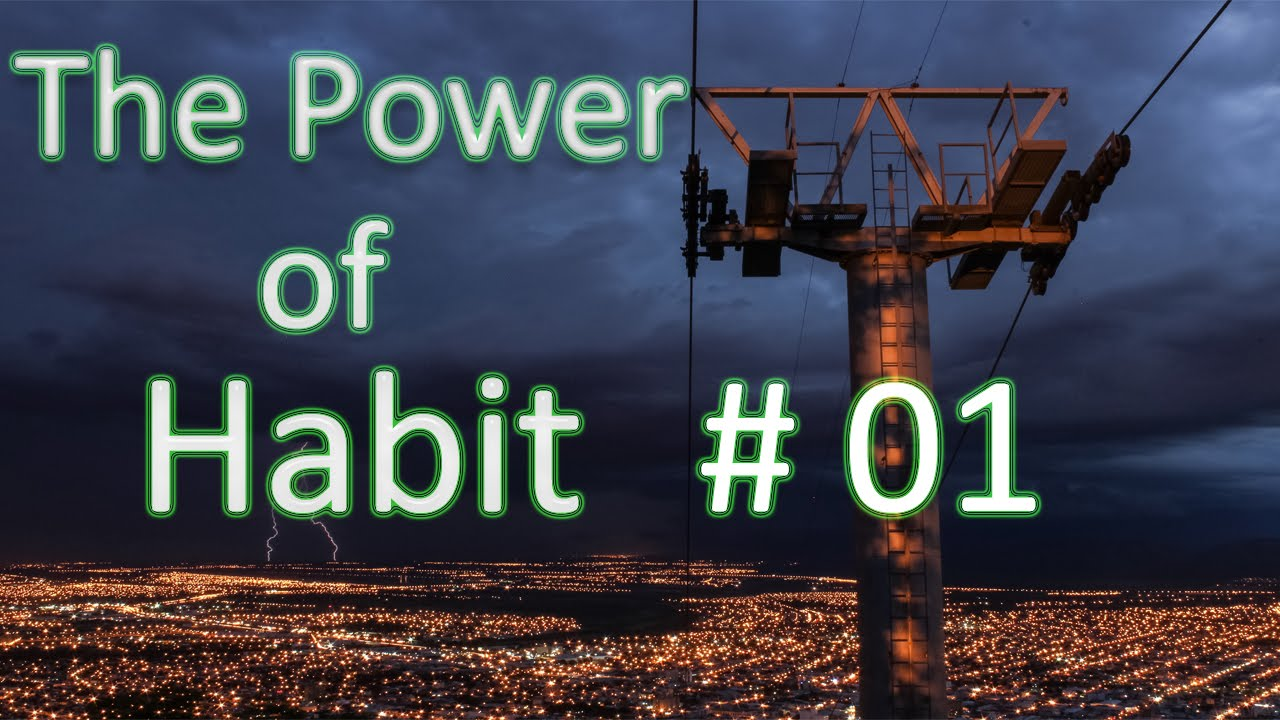 The Power of Habit by Charles Duhigg | #1 How Habits Work - The Habit Loop - YouTube