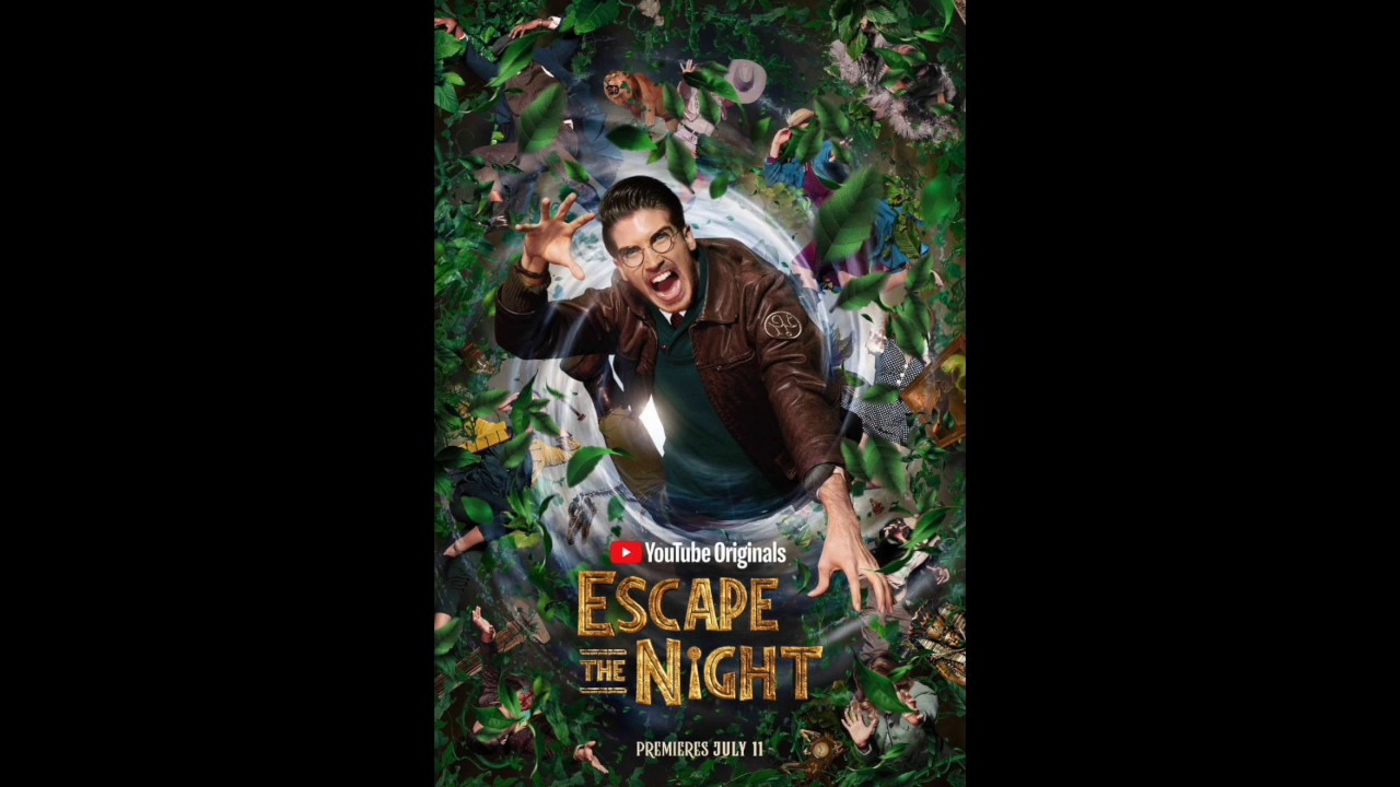 NEW ESCAPE THE NIGHT SEASON 4 POSTER (Is Joey with the Society now?!?)