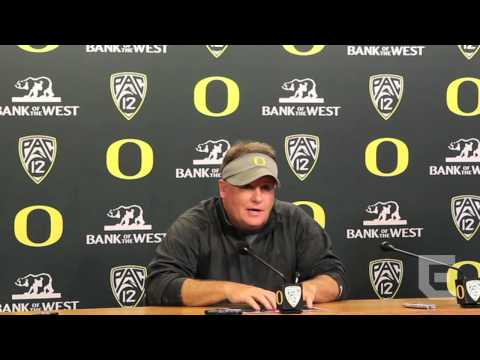 Chip Kelly post practice 9/25/12