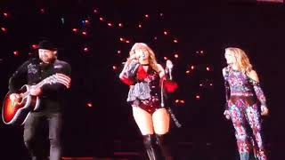 Taylor Swift and Sugarland - Babe [reputation Stadium Tour]