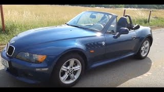 1999 BMW Z3 | 2.0 i6 | 110kW Manual | look and test drive POV