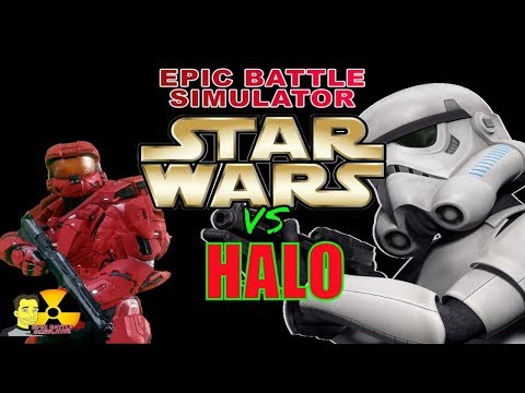 UEBS : USC HALO Spartans vs Star Wars Troopers Ultimate Epic Battle Simulator