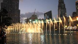 Dubai Fountain Baba Yetu