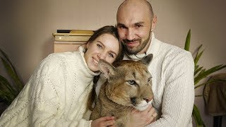 MEET the brave couple that share their home with a playful two-year...