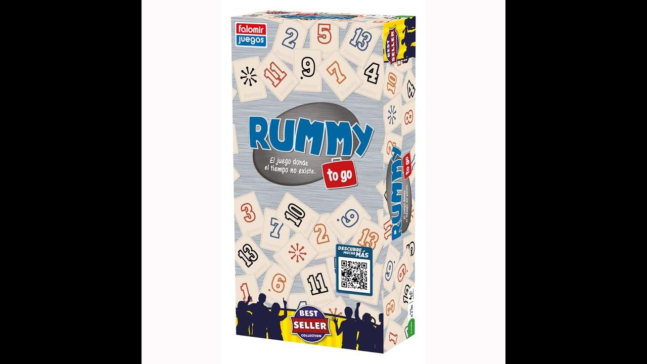 Rummy to go juego de mesa rese a aprende a jugar youtube for Viciados de mesa