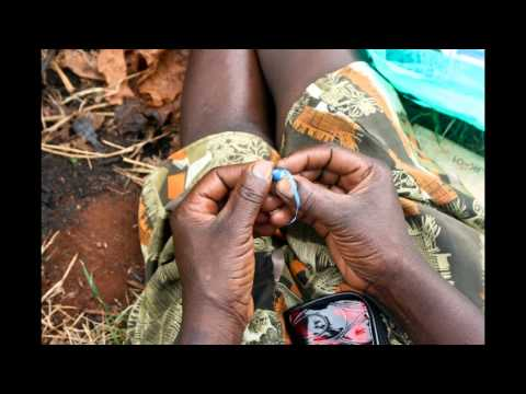The Making of Ugandan Recycled Beads