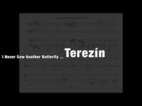 Thomas Oboe Lee: I Never Saw Another Butterfly (1991) - full score, opus 49