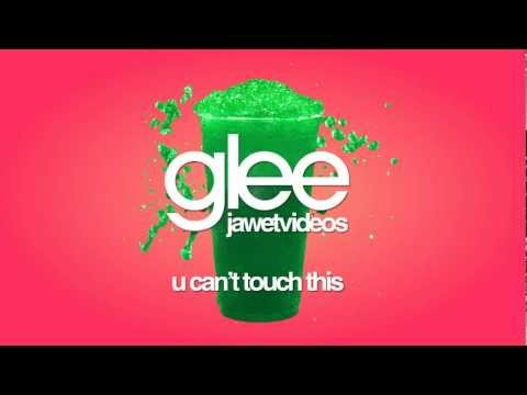 Glee Cast - U Can't Touch This (karaoke version)