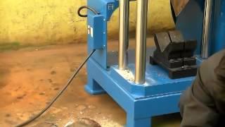 Scrap Engine Separator Recycling Engine Machine // Recykling silników transformatorów