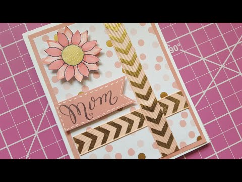EASY MOTHER'S DAY CARD | MAYMAY MADE IT STAMP SETS