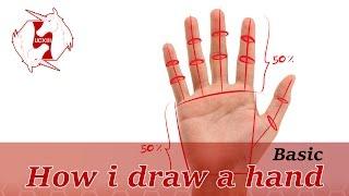 [Clip Studio Paint] How i draw a hand(Basic) [Tutorial][TH/EN]