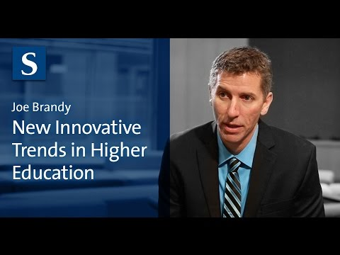 Joe Bandy: New Innovative Trends in Higher Education