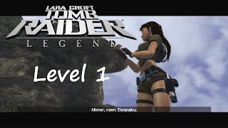 Tomb Raider Legend Walkthrough - Level 1: Bolivien / Tiwanaku