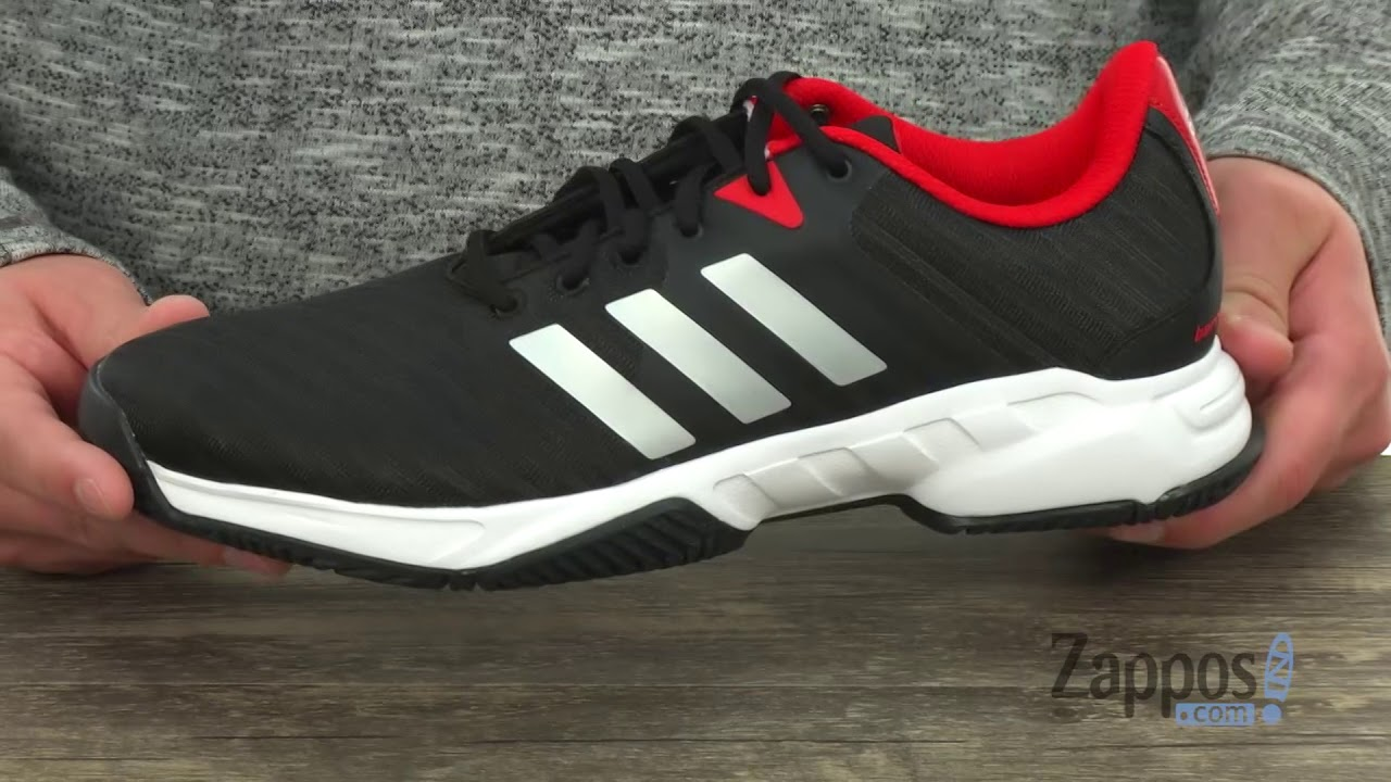 bdd26d11b369 adidas Barricade Court 3 SKU  8991632 - YouTube