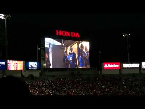 Rose Bowl UCLA Bruins entrance 11-22-14