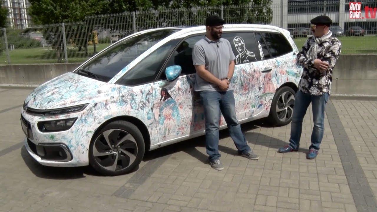 Auta bez ściemy – Citroen Grand C4 Picasso jakiego nie widzieliście