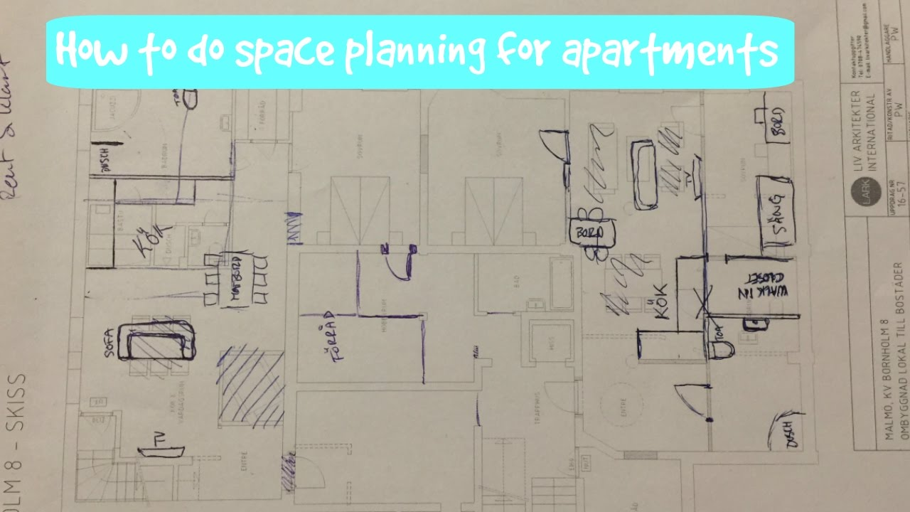 How to do space planning for apartments | Our thoughts & How to do space planning for apartments | Our thoughts - YouTube