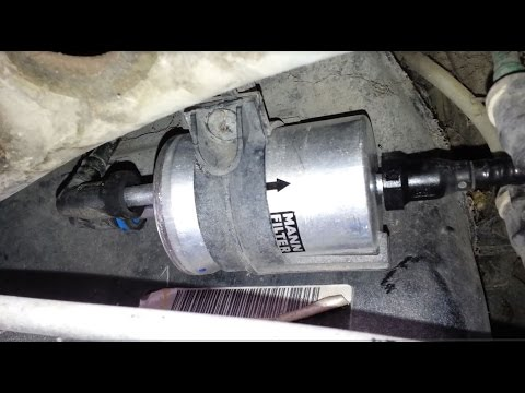 how to remove jetta 2007 fuel filter 2007 Vw Jetta Fuel Filter Replacement