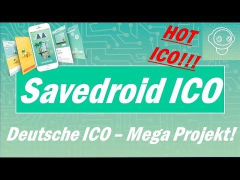 Savedroid ICO - Mega Projekt 2018 - Deutsche ICO und deutsche Firma - Bekommt 100 SVD umsonst!