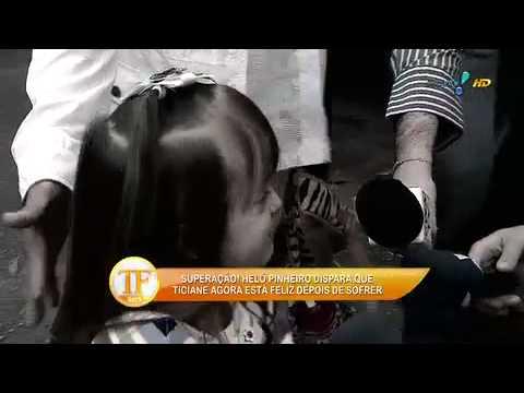 TV Fama 08/08/2014 - Helô Pinheiro Diz Que Tici Está Feliz Depois De Chorar Muito