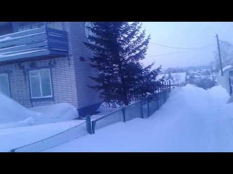 Замело Алтайский край.Почему не помогаю чистить главную дорогу?