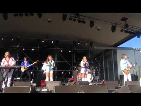 Bjorn Again Dancing Queen - Decades Festival Pine Rivers Park Strathpine Qld. 31/10/15