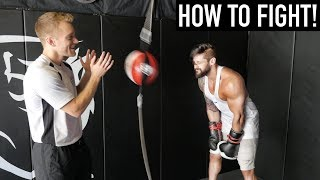 BODYBUILDER TRYS BOXING | Heavy Bag & Speed Workout Challenge | Lex Fitness