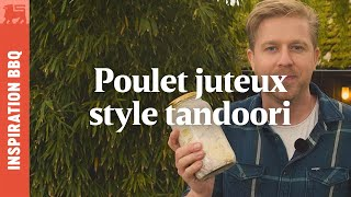 Poulet juteux style tandoori