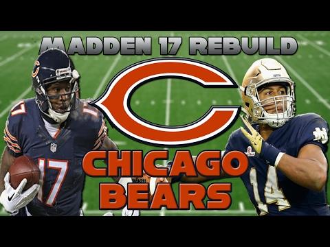 Madden 17 Rebuild | Chicago Bears | DESHONE KIZER IS LIT!!!