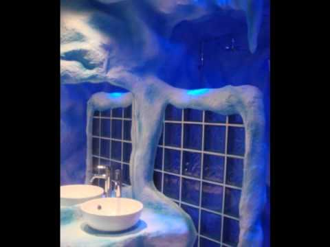 video platre decoration salle de bain ( ages de glace ) - youtube - Platre Salle De Bain