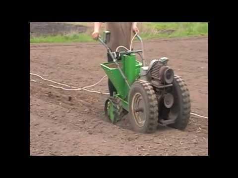 Каменская картофиле копалка + МТЗ 05 - YouTube