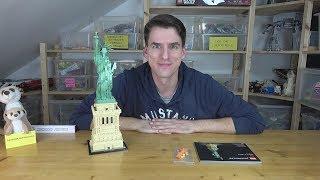LEGO® Architecture 21042 - Die Freiheitsstatue und eine Lösung für das Gesicht