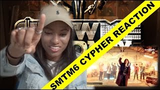 SMTM6 PRODUCER CYPHER MV reaction