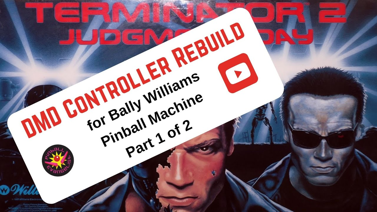 Guide to Repairing DMD Board in WPC Pinball Machine (Part 1