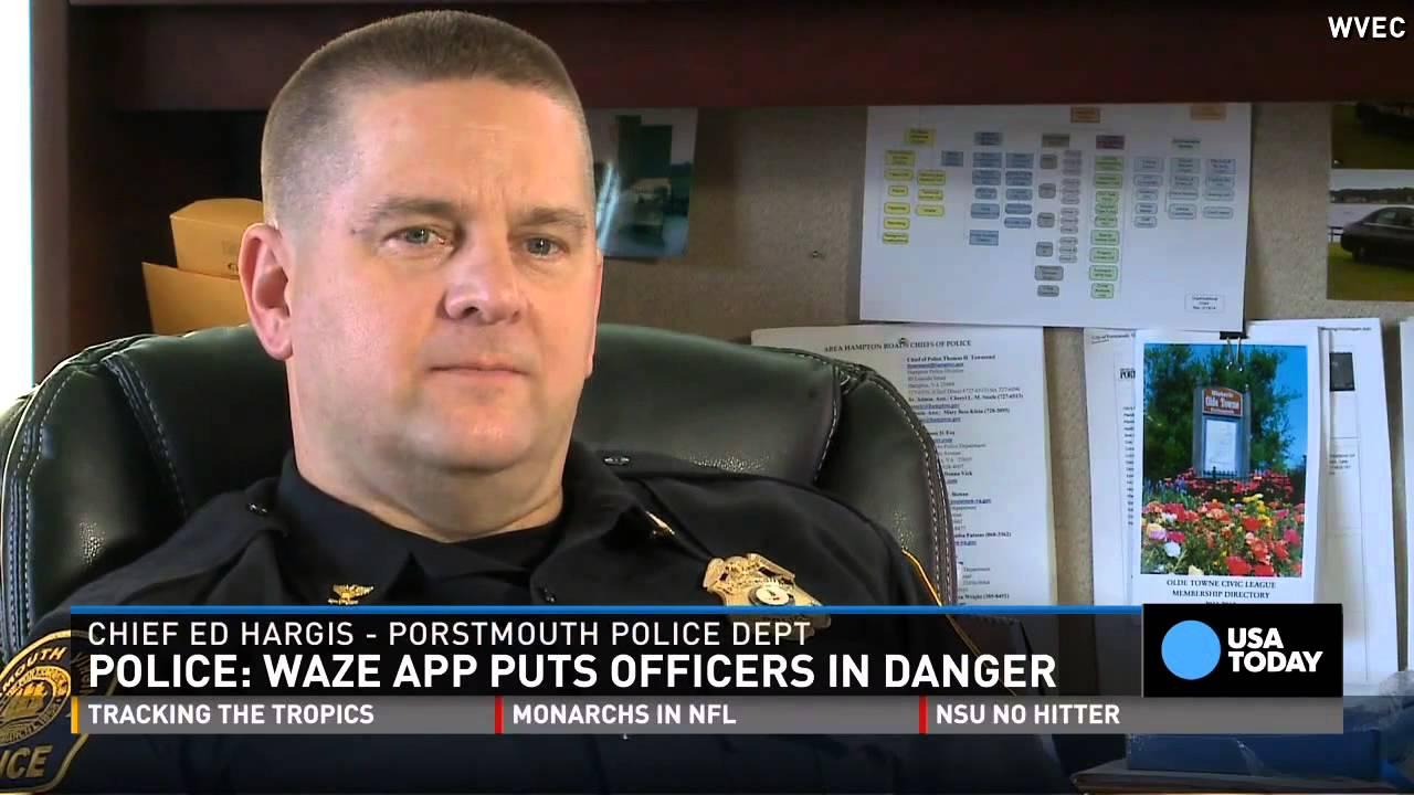 Police say Waze app puts officers in danger