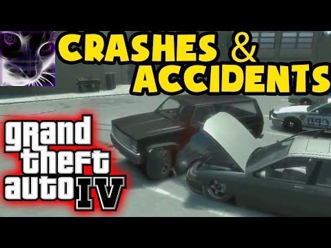 Grand Theft Auto 4 (GTA IV / 4) Crashes & Accidents