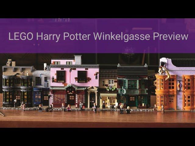 Harald-Töpfer-Allee vorgestellt!!! LEGO 75678 Harry Potter Winelgasse Preview